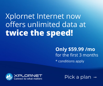 Xplornet Unlimited Data
