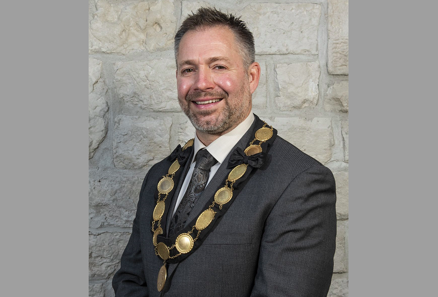 Kelly Linton, Warden of Wellington County and Mayor of Centre Wellington.